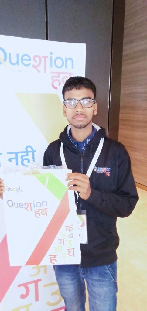 google question hub event new delhi