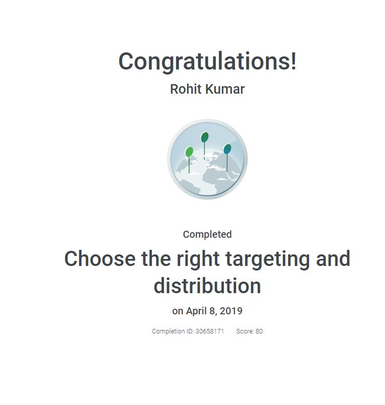 choose the right targeting and distribution certificate